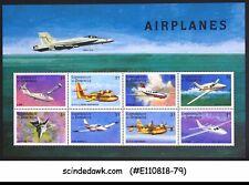 DOMINICA - 1998 AIRPLANES / AVIATION - MINIATURE SHEET MNH