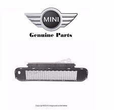 NEW Mini Cooper S Convertible GENUINE Front Center Bumper Grille 51 11 7 068 396