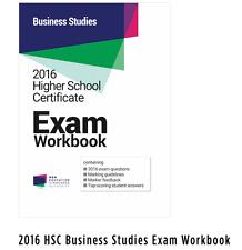 2016 HSC Business Studies Exam Workbook