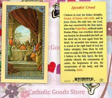Last Supper - The Apostles' Creed - Laminated Holy Card