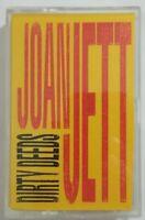Joan Jett Cassette Dirty Deeds Let It Bleed 1990 CBS Records Tape