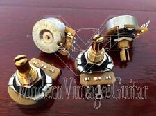 4 - Modern Vintage Guitar CTS 450GT A500K Potentiometers Low Torque 10%  Pots