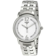 Tissot Lady Round Silver Dial Stainless Steel Ladies Watch T0522101103700