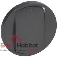 Manette simple pour va et vient bouton poussoir Legrand Céliane graphite 67901