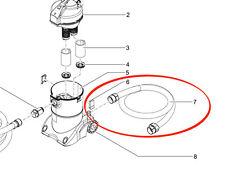 Oasi scadenza TUBO id57 mm incollate pondovac 3 + 4 RICAMBI ORIGINALI 14102