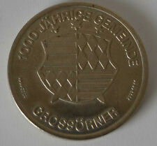 DDR Medaille - 1000 jährige Gemeinde Grossörner - WII