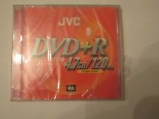 NEW JVC DVD+R RW High-Speed Disc for Video/Data DVD DISC Blank Media