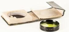 ZEISS IKON CONTAFLEX TLR ORIGINAL GEL-FILTER HOLDER WITH BOX AND GELATINE SET