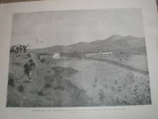 Capture of lianghiang by Germany infantry and Bengal Lancers China 1900 print