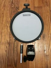 "Simmons 8"" Mesh Drum Pad Tom/Snare (Single Zone) w/Mounts MESHDRUM8S SD350"