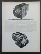 1969 HASSELBLAD CAMERAS Magazine Ad - The Camera That Took Pictures Of The Moon