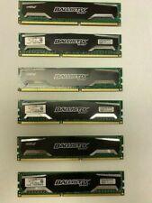 Crucial Ballistix Sport 2GB DDR3 1600 MHz PC3-12800 CL9 Memory BLS2G3D1609DS1S00