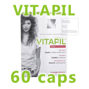 VITAPIL  Biotyna + Bambus 60 caps