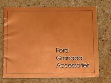 1977 FORD GRANADA ACCESSORIES Sales Brochure - Audio Alloys Lighting Towing etc