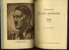 1944 Lettland Latvian Calendar German occupation of Latvia during World War II