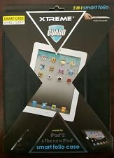 Xtreme Guard iPad 2 Smart Folio Case, Black