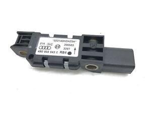 Genuine Porsche Cayenne 955 957 O/S Right Hand C Pillar Crash Sensor 4B0 959 643