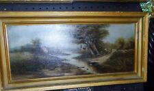 Oil on Canvas Country Creek Landscape nature painting