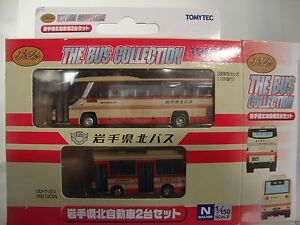 tomytec 253969 Bus-Set Northern Iwate Transportation  Spur N scale suberb detail