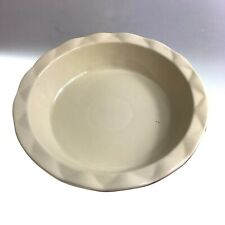 Pie Serving Dish Quality Stoneware Red & Ivory Colour Scratch & Dent Clearance