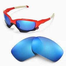New Walleva Ice Blue Replacement Lenses For Oakley Jawbone Sunglasses
