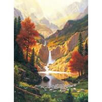 5D DIY Full Drill Diamond Painting Landscape Cross Stitch Embroidery Mosaic