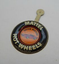 Redline Hotwheels Button Badge Metal Hong Kong Custom Mustang R17273