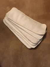 Never Used 6 PCS Reusable Baby inserts liners for Cloth Diaper Nappy microfiber