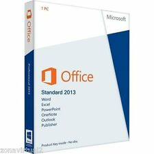 Office 2013 Standard Licencia Digital 1 Pc