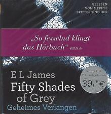 E L JAMES / FIFTY SHADES OF GREY - GESAMTAUSGABE - HÖRBUCH - 6 MP3 CD'S * NEW *