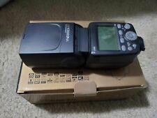 New listing Yongnuo Yn686Ex-Rt Lithium Ttl Speedlite for Canon Cameras Used Once