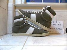 Saint Laurent SLP SL/02 Suede High Top Sneakers size 44