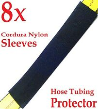 "8x Sliding Sleeves 2"" x 12"" Hydraulic Hose Tubing 2"" Strap Protector Cover"