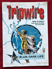 Tripwire Magazine Comics and Music Alan Moore Britains First Comic Festival 1999