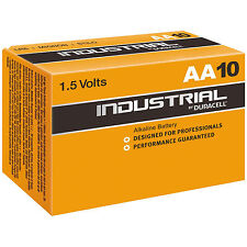 INDUSTRIAL DURACELL AA STILO procell pile alcaline LR06 stock 1,5v mn1500 10pz