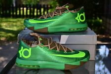 Nike KD VI 6 Gamma Green - Flash Lime Bamboo 599424-301 Men's Size 13