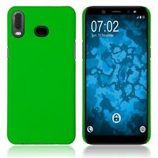 Hardcase Samsung Galaxy A6s rubberized green Cover Case
