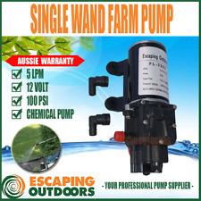 Escaping Outdoors FL3203 12V Single Wand Farm Chemical Spray Pump 100psi 5 L/min