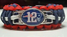 New England Patriots Tom Brady #12 Handmade King Cobra Paracord Bracelet