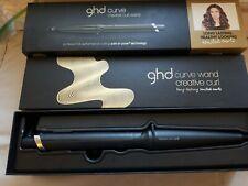 GHD Tri-Zone Curve Creative Wave Wand 0.9-1 Tapered Barrel Curl Curling Iron