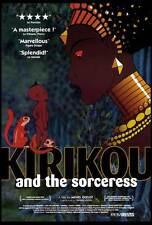 KIRIKOU AND THE SORCERESS Movie POSTER 27x40 C Antoinette Kellermann Fezele