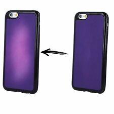 ^ Apple iPhone 5 5S 5G 5SE Violett THERMO Wärme empfindliche Hülle Etui Case