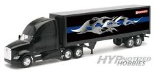 NEWRAY 1:32  KENWORTH  T700 SEMI-TRUCK WITH GRAPHICS ON CONTAINER  10273A