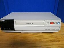 Oem Sony Time Lapse Video Cassette Recorder Model Svt Ra40