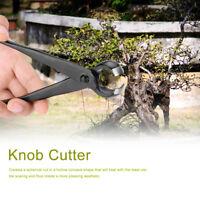 Bonsai Knob Cutter Plier Bonsai Tools Round Edge Concave Knob Branch for Garden