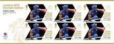 More details for anthony joshua boxing gold medal winner stamp sheet 6 x 1st ibf wba ibo 2012