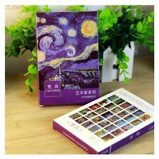 Van Gogh Postcards Cartoon Theme postcards 30 sheets