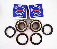 2 NSK Japanese Front Wheel Bearing  W/Seal  Set Toyota RAV4 4 Cylinder 1996-2000