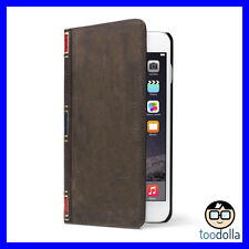 TWELVE SOUTH Bookbook Leather Wallet vintage case, iPhone 6 Plus/6s Plus BROWN