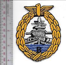Germany Navy KMS Bismarck Battleship Kriegsmarine Schlachtschiff Ship Crest